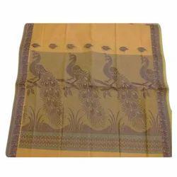 Border Designed Jacquard Cotton Fancy Saree