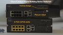 CISCO LAN Digital Building Switches