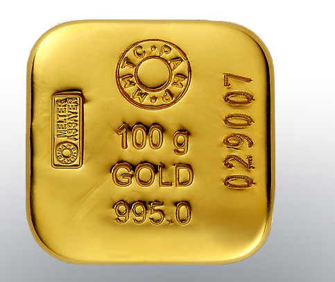 Gold Cast Ingot 100 G स न क पट ट In Sohna Mmtc Pamp India Private Limited Id 18961604130