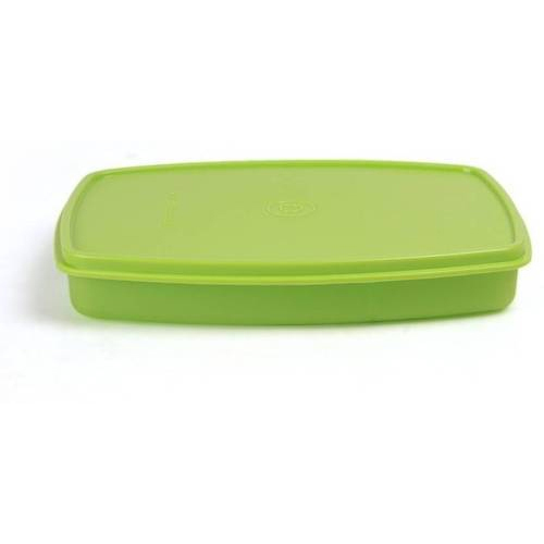 Green, Also Available In All Colors Tupperware Classic Slim Lunch Box, Capacity: 300 Ml