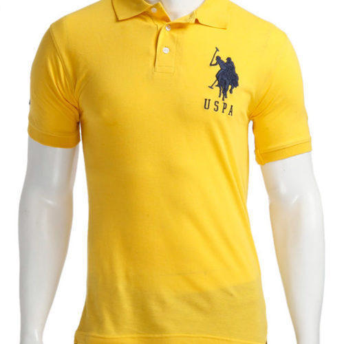 48e472f0 Men's Cotton Yellow Polo T Shirt, Rs 200 /piece, Ink Tantra | ID ...