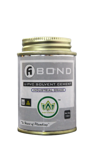 A Bond Industrial Grade UPVC Pipe Sealing Adhesive, 118 Ml