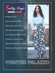 Printed Palazzo