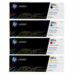 HP 201a Set Cf400a Cf401a Cf402a Cf403a Black Cyan Magenta Yellow Toner Cartridges
