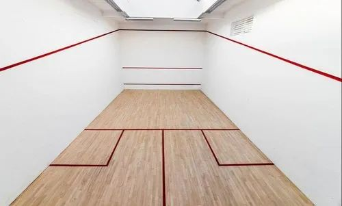 Rishi Sports Wooden Squash Sports Floor