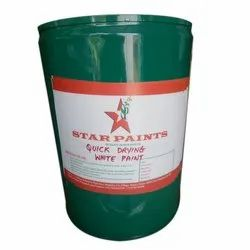 Quick Drying White Paint, Packaging Type: Drum