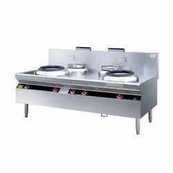Double Burner Stove Gas Range