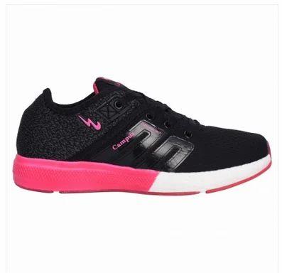 Black Women Campus 3G-478LA-BLK-PINK Battle Shoes 02c39afbd