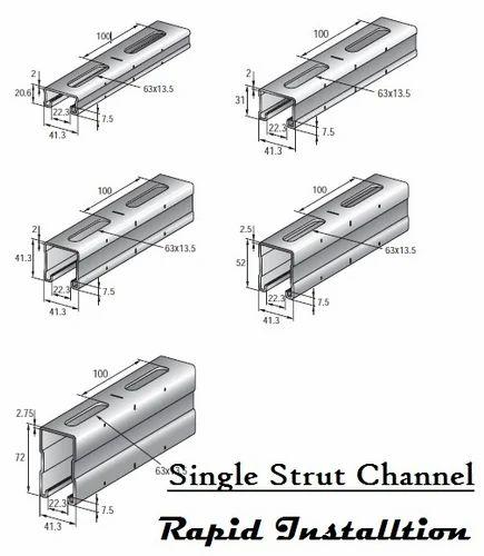 Unistrut channel - Cantilever Bracket Manufacturer from Ahmedabad