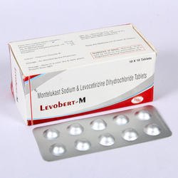 Levocetirizine With Montelukast Tablets