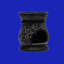 Large Black Soapstone Essential Oil Burner