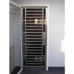 Silver Mild Steel Safety Doors