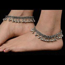a0c3805727c Vardhaman Goodwill Rajkot German Silver Indian Anklets