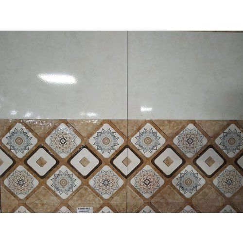 KMG Gloss Bathroom Wall Tiles, Thickness: 5-10 mm, Size: Medium (6 inch x 6 inch)