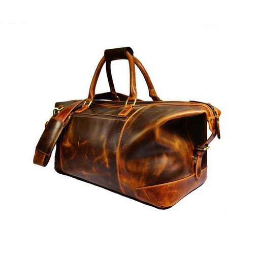 46491f3857 Hunter Leather Duffle Bag
