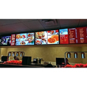 Rectangle Acrylic Restaurant Digital Signage