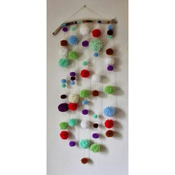 Felt Ball Dream Catcher