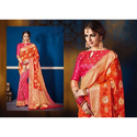 Ladies Zari Work Party Wear Saree