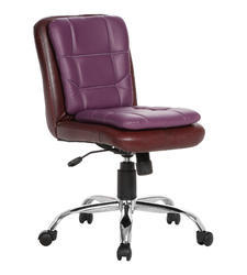 Workstation Brown and Purple Chair
