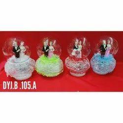 Om Shanti Om Glass Ball Gift