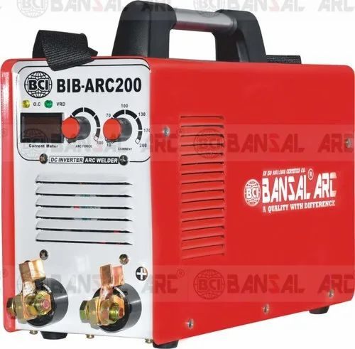 Bansal Arc Heavy 200 DC MMA Series welder 3.15 continuous