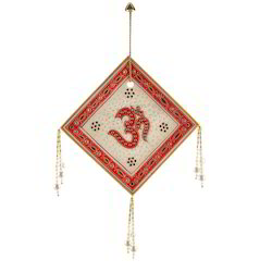 Rajasthani Om Marble Wall Hanging 442