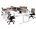 4 Way Office Workstation