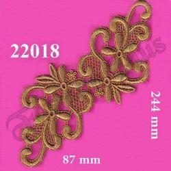 Decorative Fancy Zari Patch