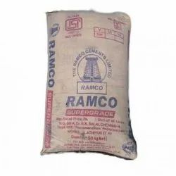 Ramco 53 Grade Cement, Cement Grade: Grade 53, Packaging Size: 50 Kg