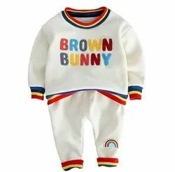 Multi Colour Hosiery Baby Suits