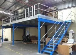 Mezzanine Floor With Office Space -Turn Key Interior