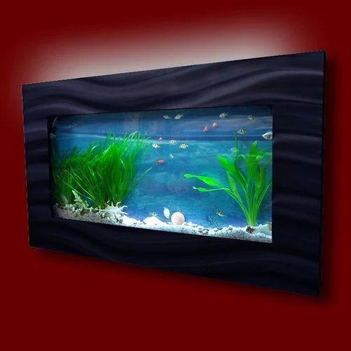 Unique Design Wall Mounted Aquarium Tank At Rs 28500