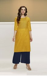 Pr Fashion Launched Beautiful Designer Pair Of Kurti With Plazzo