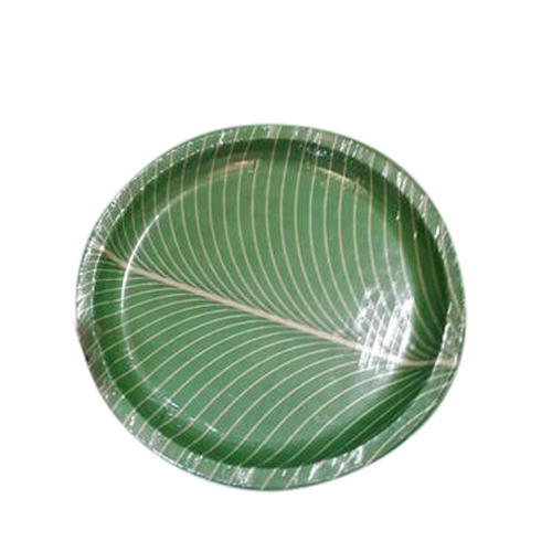 Light Weight Banana Leaf Paper Plate  sc 1 st  IndiaMART & Light Weight Banana Leaf Paper Plate Disposable Kagaz Ki Plate ...