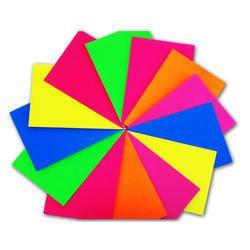A4 Fluorescent Color Paper GSM 50 Rs 700 ream Garg Paper