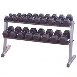 62 & Wide 2 Tier Dumbbell Rack
