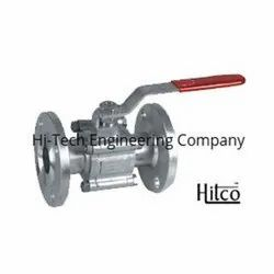 Two Piece Flange End Ball Valve