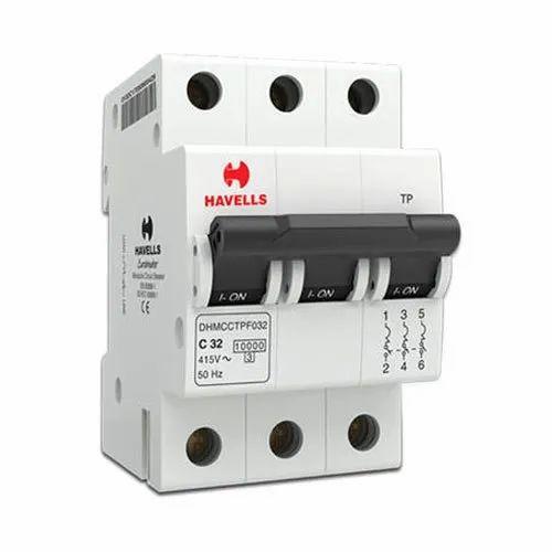 Three Phase 415 V Havells Electric MCB
