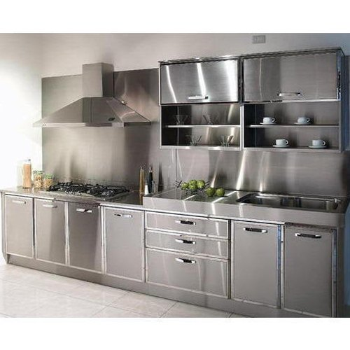 Smart Stainless Steel Modular Kitchen