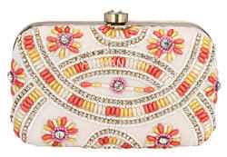 Ladies Beaded Clutch Purse