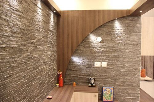 Interior Stone Cladding Service, Thickness: 20 - 30 Mm ...