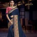 Trendy Embroidered Fashionable Saree