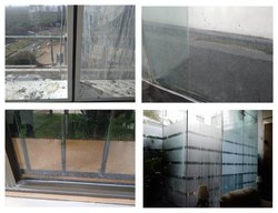 Facade Hard Water Stain Removal Cleaning Service