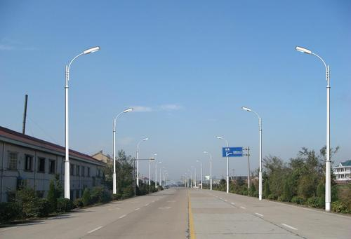 Lighting And Camera Pole - Ms Street Pole Manufacturer from