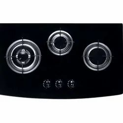 730 x 430 x 95 mm 3 Burner Gas Hob