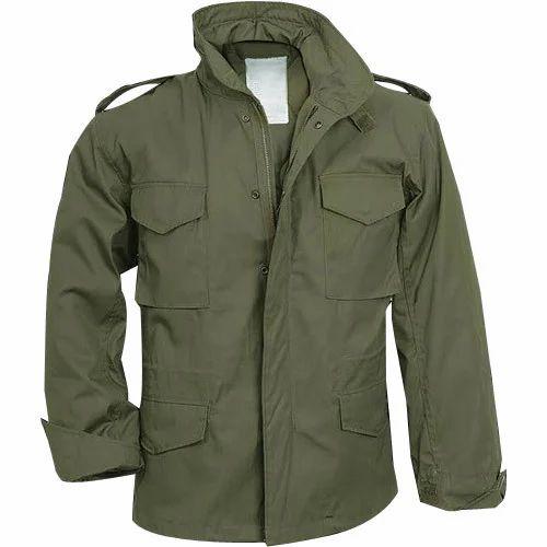 0b2ab7cc Green Army Jacket
