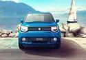 Urban Blue Maruti Ignis Car