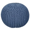 Cotton Woven Round Home Decor Decorative Multi color Pouf For Seat