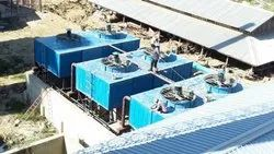 Indued Draft Fiberglass Reinforced Polyester JYOTI COOLING TOWERS, Capacity: 5000, Cooling Capacity: 500 Tr