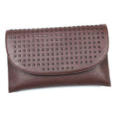Brown Leather Hand Purse